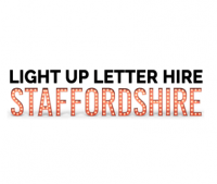 Light Up Letter Hire Staffordshire