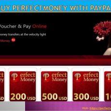 Buy perfectmoney with credit card   Perfectvoucher.com