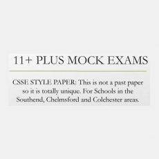 11 Plus Mock Exams Southend, Chelmsford & Colchester CSSE